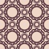 Abstract uitstekend spirographpatroon Royalty-vrije Illustratie