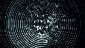 Abstract Uitstekend Tegelpatroon en Cirkellijn