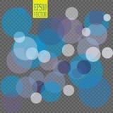Abstract Uitstekend Vakantie bokeh effect Als achtergrond Vector EPS 10 illustratie Stock Afbeeldingen