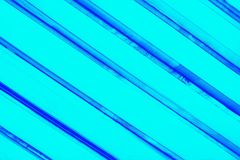 Abstract ultra turquoise aqua color background with diagonal blue stripes. Abstract bright background royalty free stock images