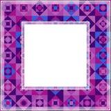 Ultra violet border-20. Abstract ultra violet border. Design element for photo frames. Trendy colors royalty free illustration