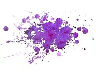 Abstract ultraviolet watercolor spray. Abstract ultraviolet watercolor on white background. The color spray in the paper. It is a hand drawn. watercolor print Stock Photos