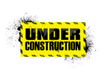 Abstract under construction background Stock Photos