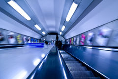Abstract in underground Royalty Free Stock Photos