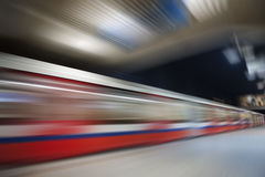 Abstract underground speed motion Stock Image