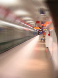 Abstract Underground Station Royalty Free Stock Image