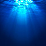 Abstract underwater background Royalty Free Stock Images