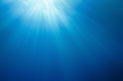 Abstract underwater background Royalty Free Stock Image