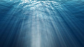 Abstract underwater background. Digital backdrop Royalty Free Stock Photo