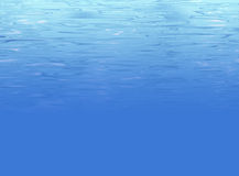 Abstract underwater background with water texture royalty free illustration