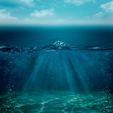 Abstract underwater backgrounds Royalty Free Stock Image