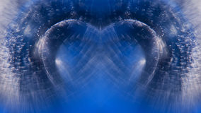 Abstract, underwater, colorful composition with bubbles Royalty Free Stock Photo