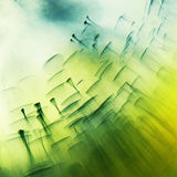 Abstract, underwater, colorful composition with bubbles Royalty Free Stock Images