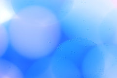 Abstract underwater games with bubbles, jelly balls and light Royalty Free Stock Photos
