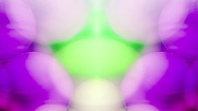 Abstract underwater games with jelly balls, bubbles and light Royalty Free Stock Photos