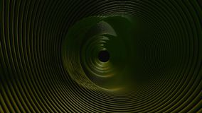Abstract Undulating Disc Tunnel.
