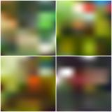 Abstract unfocused natural backgrounds, blurred Royalty Free Stock Photography