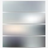 Abstract unfocused natural headers, blurred design Royalty Free Stock Images