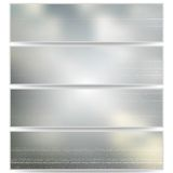 Abstract unfocused natural headers, blurred design Stock Photos