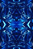 Abstract unique 3d computer generated blue modern futuristic energetic fractals artwork background. Artistic abstract 3d computer generated energetic smooth vector illustration