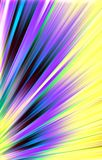 Colorful background. Colored strips diverge from the bottom to the edges. Vector. Abstract unique. Illustration and decoration. Violet and black, green and Royalty Free Stock Images