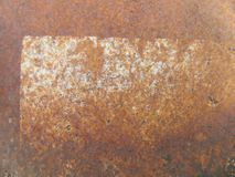 Abstract rusty metal background texture Stock Images