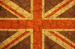 Abstract United Kingdom flag Royalty Free Stock Photos