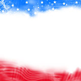 Abstract United States Patriotic background Stock Photography
