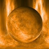 Abstract Universe Dust Planet Illustration. Abstract Universe Dust Planet with Background Illustration Royalty Free Stock Photo