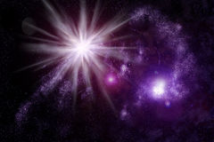 Abstract universe - space nebula Royalty Free Stock Photo