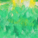 Abstract unusual fresh yellow and green  background texture Stock Photo