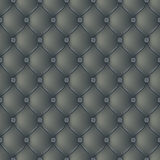 Abstract upholstery dark gray background Royalty Free Stock Image