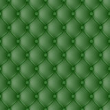Abstract upholstery dark green background. Vector abstract upholstery dark green background. Can be used in cover design, book design, website background, CD Stock Image