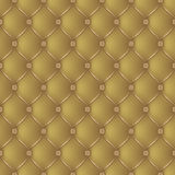 Abstract upholstery on a gold background Stock Image