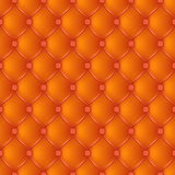 Abstract upholstery orange background. Stock Photo