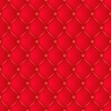 Abstract upholstery red background. Royalty Free Stock Photo