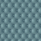 Abstract upholstery turquoise background. Stock Photography
