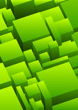 Abstract urban background in green Stock Photography