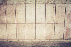 Abstract urban background interior with stone tiling Royalty Free Stock Photos
