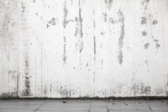 Abstract urban background interior, white wall Royalty Free Stock Photography