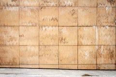 Abstract urban brown tile wall Royalty Free Stock Photos