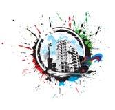 Abstract urban city Stock Image