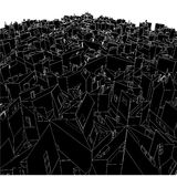 Abstract Urban City Boxes From Cube Vector 03 Royalty Free Stock Photos