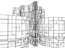 Abstract Urban City Building Vector 113 Stock Photo