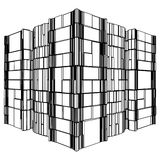Abstract Urban City Building Vector 123 Stock Images