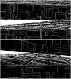 Abstract Urban City Construction Vector Royalty Free Stock Photo