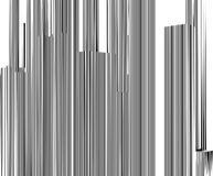 Abstract Urban City Of Skyscrapers Stripes Vector. Background Royalty Free Stock Photography