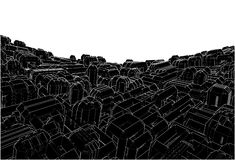 Abstract Urban City Vector Stock Images