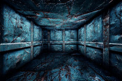 Abstract Urban Metal Interior Room Stage Royalty Free Stock Photography
