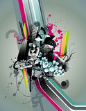 Abstract urban vector Stock Photos